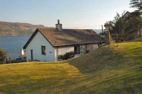 Struan Cottage stands in a quiet semi-rural location but within a short distance of the centre of Lochcarron village, Scottish Highlands